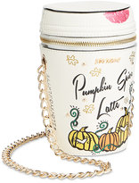 Betsey Johnson #Basic Pumpkin Spice Latte Mini Chain Strap Crossbody