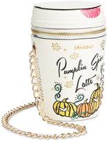 Betsey Johnson #Basic Pumpkin Spice Latte Mini Crossbody
