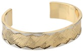 House Of Harlow Wavelength Cuff (Gold/Silver) - Jewelry