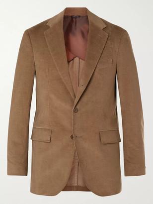 Loro Piana Rain System Cotton And Cashmere-Blend Corduroy Suit Jacket