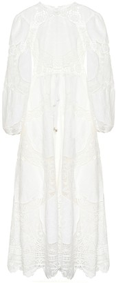 Zimmermann Bonita linen and cotton dress