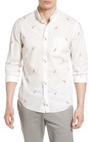 Bonobos Men's Summerweight Slim Fit Print Sport Shirt