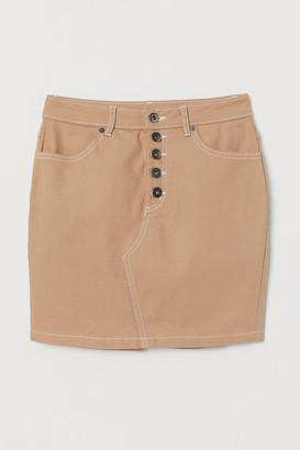 H&M Short twill skirt