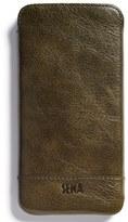 Sena Heritage - Ultra Slim Leather Iphone 6 Plus/6S Plus Pouch - Black