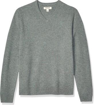 Goodthreads Amazon Brand Men's Lambswool V-Neck Sweater