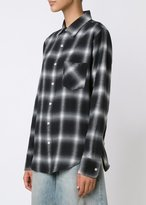 R 13 Slim Boy Shirt Black