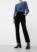 MANGO Velvet Trousers