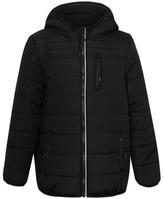 George Hooded Padded Shower Resistant Jacket