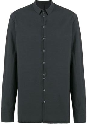 Label Under Construction Invisible Buttonholes Shirt