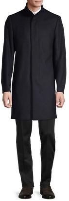 Theory Belvin Melton Wool-Blend Coat