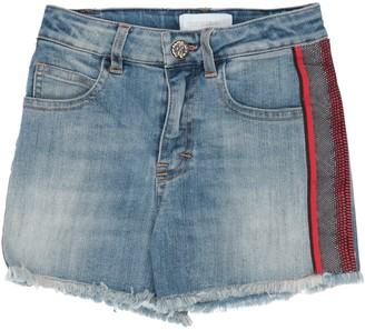 Roberto Cavalli JUNIOR Denim shorts