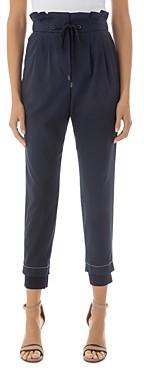 Peserico Paperbag-Waist Pants