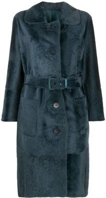 Liska Belted Single Breasted Coat