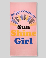 "Juicy Couture Sun Shine Girl"" Beach Towel"