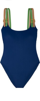 Tory Burch Buckle Tank Swimsuit