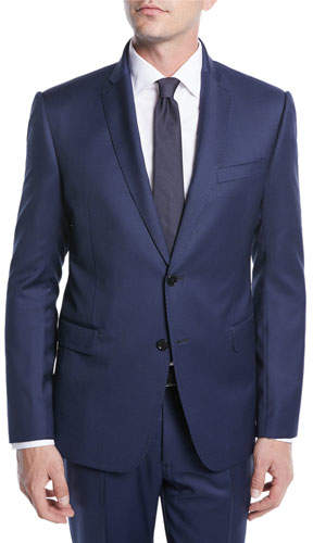 Emporio Armani Men's Micro-Weave Wool Two-Piece Suit