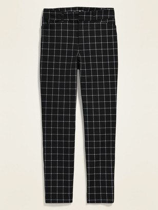 Old Navy All-New High-Waisted Patterned Pixie Ankle Pants