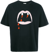 Saint Laurent Blood Luster print T-shirt
