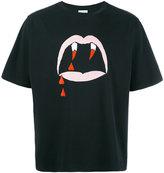 Saint Laurent Blood Luster print T-shirt