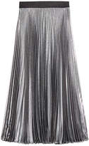 Christopher Kane Pleated Silk Skirt
