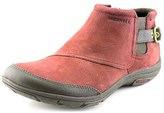 Merrell Dassie Ankle Women Round Toe Leather Burgundy Ankle Boot.