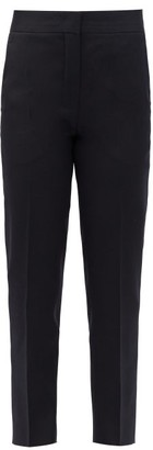Jil Sander Emilio Cropped Wool-gabardine Suit Trousers - Navy
