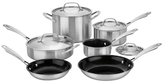 Cuisinart Tri-Ply Cookware Set (10 PC)