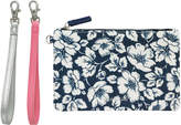 Cath Kidston Didworth Flowers Double Strap Zip Pouch