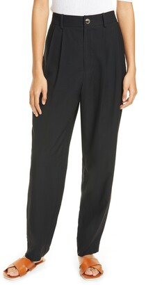 Vince Pleated Ankle Trousers