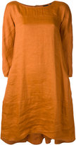 Aspesi shift dress - women - Silk/Linen/Flax - 38