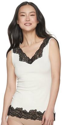 Lunaire Women's Lace Trim Camisole 640989K