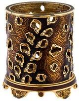 Jay Strongwater Embellished Enamel Candle Holder