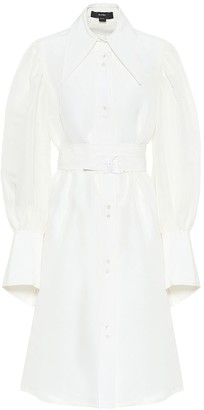 Ellery Antigua linen-blend shirt dress