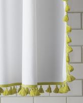 Serena & Lily French Tassel Shower Curtain - Citrine