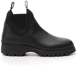 Prada Chunky Sole Boots