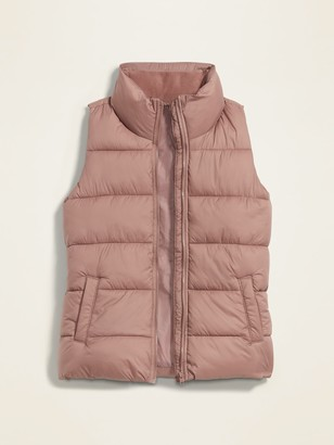 Old Navy Frost-Free Puffer Vest for Women