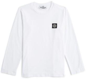 Stone Island Junior Logo T-Shirt (4-14 Years)