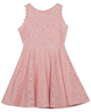 Rare Editions Toddler Girls Lace Skater Dress