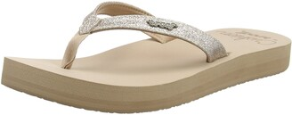 Reef Women's Star Cushion Sandals Beige (Almond) 6 UK