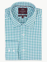 M&S Collection LuxuryMarks and Spencer Pure Cotton Regular Fit Shirt
