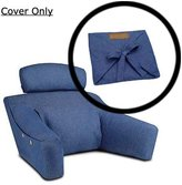 BedLounge Replacement Cover - Size, 100% Cotton, Denim Color