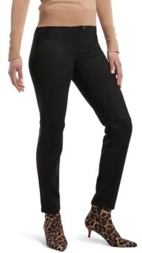 Hue Microsuede Straight-Leg Leggings