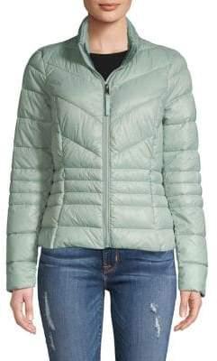 Vero Moda Full-Zip Quilted Coat