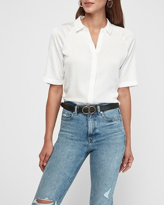 Express Skinny Double O-Ring Belt