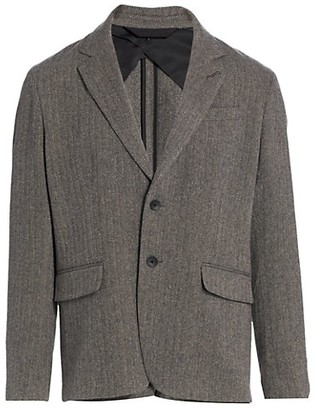Rag & Bone Deconstructed Herringbone Sportcoat