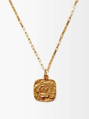 Alighieri The Baby 24kt Gold-plated Necklace - Yellow Gold