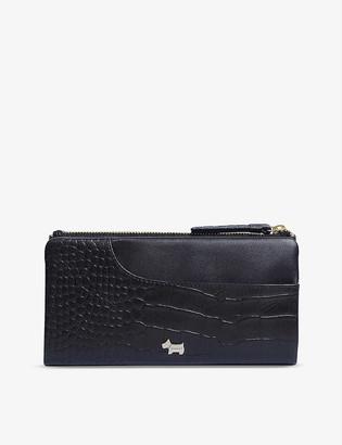 Radley + Co London Pockets large leather bifold matinee purse