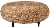 Jeffan Decorative Tan Transitional Riau Round Coffee Table