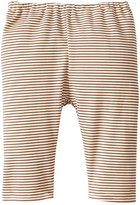 Zutano Candy Stripe Pants (Baby) - Chocolate-Newborn