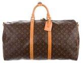 Louis Vuitton Monogram Keepall Bandoulière 55